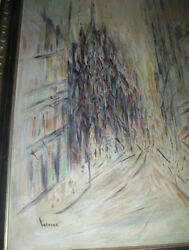 ANTIQUE IMPRESSIONIST OIL PAINTING VENICE SIGNED HELP IDENTIFY AGE BEST OFFER