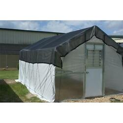 Riverstone Industries RSI R1016-P 16 Ft. Carver Poly Educational Greenhouse Kit