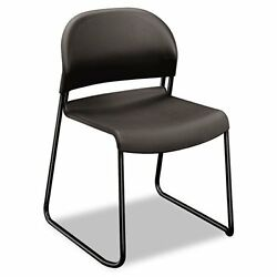 HON 4031LAT Gueststacker Series Chair Charcoal With Black Finish Legs 4Carton