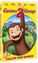 Curious George 2: Follow That Monkey DVD 2009 $3.96