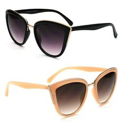 New Women#x27;s Classic Cat Eye Designer Fashion Shades Sunglasses