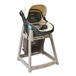 Plastic High Chair BeigeBrown Csl Foodservice And Hospitality 888-BRN