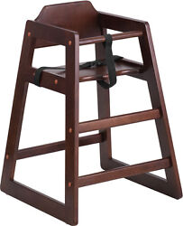 FLASH HERCULES STACKABLE BABY CHILD HIGH CHAIR W SUPPORT STRAP FURNITURE NEW