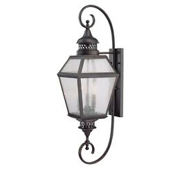 Savoy House 5-774-13 Chiminea 3 Light English Bronze Outdoor Wall Sconce