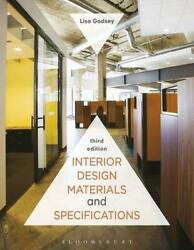 Interior Design Materials and Specifications by Lisa Godsey (English) Paperback
