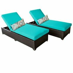 Miseno CLASSIC-2x-ARUBA Traditions 2-Piece Outdoor Chaise Lounge Chair Set