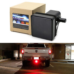 Smoked Lens 15 LED Brake Light Trailer Hitch Cover Fit Towing amp; Hauling 2quot; Size $14.55