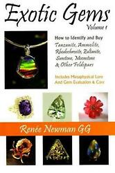 Exotic Gems by Renee Newman (English) Paperback Book Free Shipping!