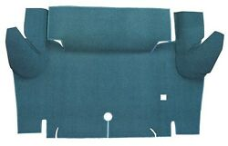 1965 1966 Ford Mustang Coupe Trunk Kit Floor Only Nylon Carpet Trunk Mat 1pc $134.95