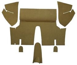 1971 1973 Ford Mustang Coupe Trunk Kit Floor Only Nylon Carpet Trunk Mat 6pc $134.95