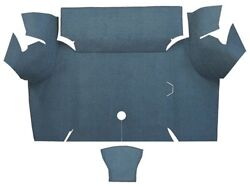 1967 1968 Ford Mustang Coupe Trunk Kit Floor Only Loop Carpet Trunk Mat 2pc $171.95
