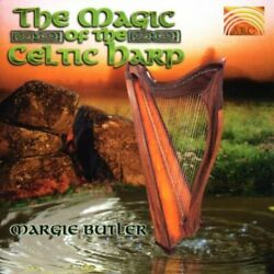Margie Butler : Magic of the Celtic Harp CD Incredible Value and Free Shipping!