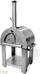 PIZZA OVEN OUTDOOR WOOD FIRED Grill Stainless Steel Stone Bricks Spatula Kit New