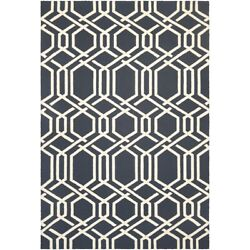 Couristan Covington Ariatta Navy IndoorOutdoor Rug