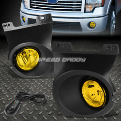 FOR 09 14 FORD F150 TRUCK AMBER LENS OE FITMENT PAIR FOG LAMPSWITCHWIRING $62.33