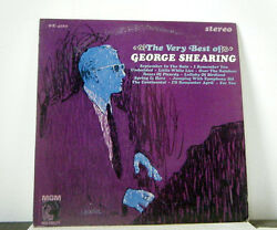 GEORGE SHEARING LP The very best of george shearing Mgm jazz