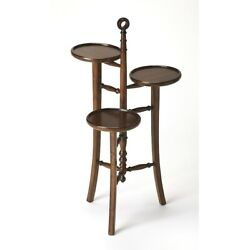 Butler Kreiger Plantation Cherry Plant Stand Dark Brown - 3759024