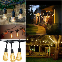 Outdoor Waterproof Commercial Grade Patio String Lights Incandescent Bulbs