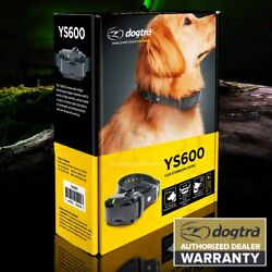 DOGTRA YS600 No Bark Collar Yapper Stopper YS 600 Stop Dog 35 lbs from Barking $88.95