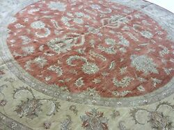 Gorgeous 12x12 Round Ziegler Persian Oriental Hand Knotted Rug 11'.11