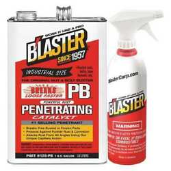 BLASTER 128-PB wSprayer 1 gal. Clear Penetrant Can
