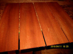 PACKAGES OF THIN PREMIUM KILN DRIED SANDED EXOTIC AFRICAN MAHOGANY LUMBER