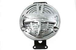 Replica Delco Remy Chrome 6 Volt Horn Fits SOME Early Harley-Davidson  Models