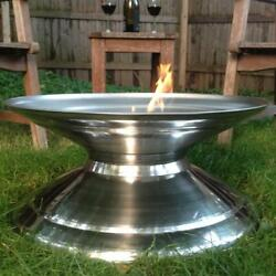Portable Stainless Steel Outdoor Fire Pit Poker Grate Spark Screen Included