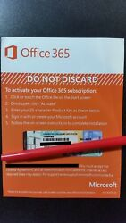 Microsoft Office 365 Personal 1 Year Subscription of Latest MS OFFICE +1TB CLOUD