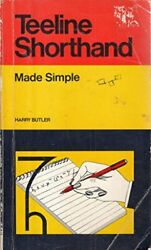 Teeline Shorthand (Made Simple Books) by Butler Harry Paperback Book The Fast