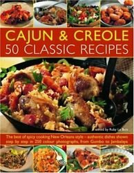 Cajun and Creole Cooking Contemporary Kitchen by Le Bois Ruby Paperback Book $9.69