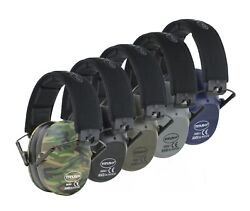 34 NRR SHOOTING FIRING GUN RANGE NOISE REDUCTION EAR MUFFS HEARING PROTECTION