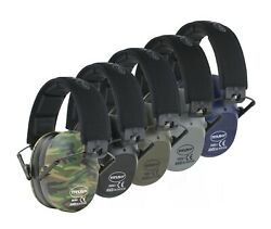34 NRR SHOOTING FIRING GUN RANGE NOISE REDUCTION EAR MUFFS HEARING PROTECTION $17.99