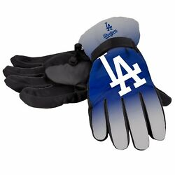 Los Angeles Dodgers Gloves Logo Gradient Insulated Winter NEW Unisex S M L XL $19.75