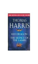 Silence of the Lambs  Red Dragon by Harris Thomas Hardback Book The Fast Free $10.32