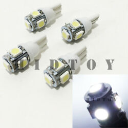 2 Pair T10 158 161 168 194 558 2825 2827 LED 5-SMD 5050 White #Gd3 Ash Tray Lamp