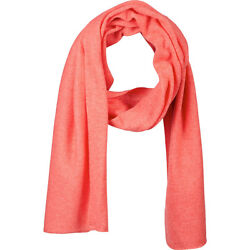Kinross Cashmere Oversize Scarf - Coral Rose HatsGlovesScarve NEW