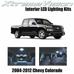 XtremeVision LED for Chevy Colorado 2004 2012 12 Pieces Cool White Premium Int