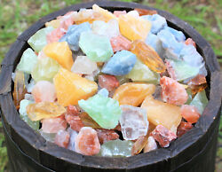 1 2 lb Bulk Lot Mixed Assorted Calcite Rough Raw Crystal Gemstone Mineral 8 oz $8.92