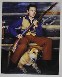Tommy Kirk Signed Old Yeller 8x10 Photo inscribed