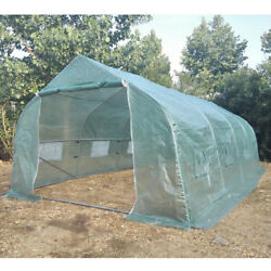 """236 x 118 x 79"""" Walk In GREENHOUSE Garden Green House Plant House Shed PE Cover"""