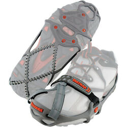 Yaktrax Run Winter Traction Cleats for Snow and Ice Gray $40.00