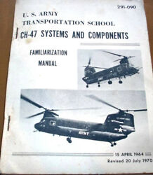 Boeing CH 47 Chinook Helicopter Systems amp; Components Familiarization Manual $142.34