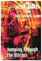The Seeds and Sky Sunlight Saxon: Jumping Through the Mirrors DVD 2013 NEW Rock