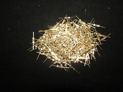 1000 25 MM BRASS CHANDELIER PARTS LAMP CRYSTAL PRISM BEAD CONNECTOR PINS BOWTIE $32.70
