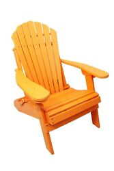 New Outer Banks Poly Wood Folding Kid's Size Adirondack Chair Made-to-Order