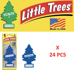 Little Trees New car Freshener scent 10189 Air MADE IN USA Pack of 24 $18.75