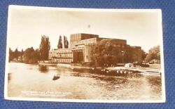 Memorial Theatre And Avon Stratford Upon Avon. D. Constance 5983. Real Photo. GBP 7.99