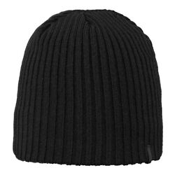 Barts Unisex Knitted Fleece-Insert inside Hat One Size Wilbert Beanie Black