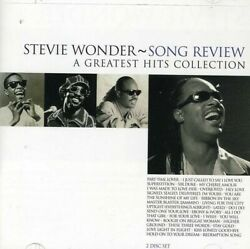 Stevie Wonder : Song Review: A GREATEST HITS COLLECTION CD (1999)